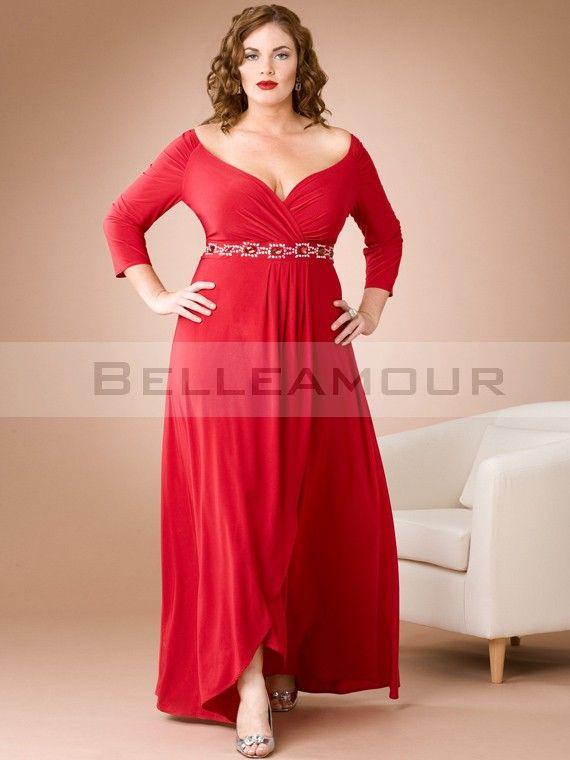 Les 25 meilleures id es de la cat gorie robe soir e grande for Robe taille plus pour mariage