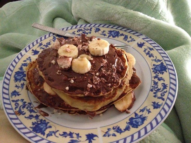 pancakes nutella banana