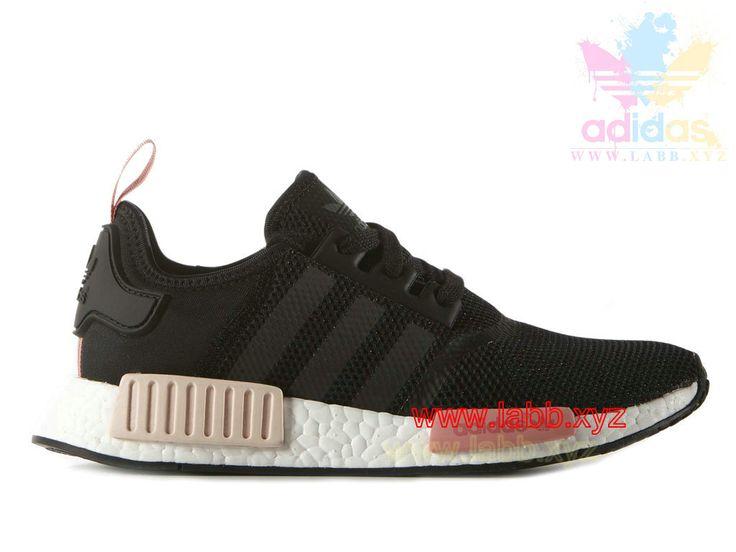 Adidas Originals Nmd | Adidas Femme Chaussures Runner NMD_ R1 Peach Pink  S75234 - 1604180386 -