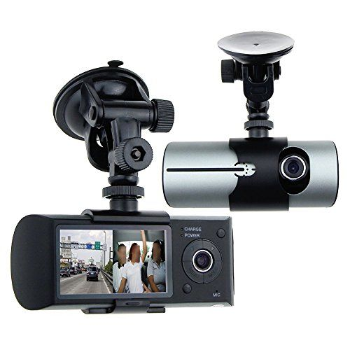 Awolf 27 Dual Lens Dash Cam Car DVR Vehicle Camera Video Recorder Car Camera with GPS Module GSensor * Want additional info? Click on the image.