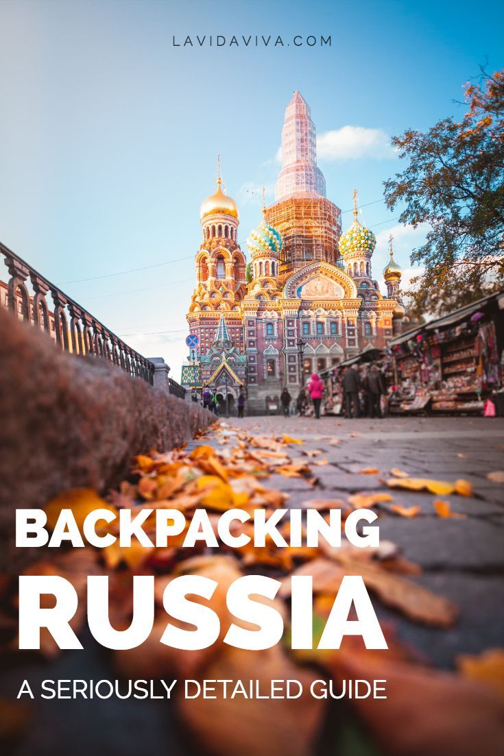Backpacking Russia | Eastern Europe Travel Inspiration | Travel