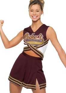 Catalog of Custom Cheerleading Uniforms by Cheer Etc. Any style you want.