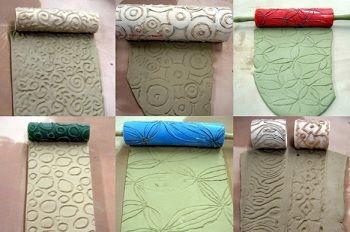 caracteristicas de los rodillos texturizados