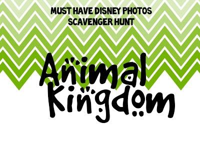 Free Printable Disney World Photo Scavenger Hunt!! | Picturing Disney