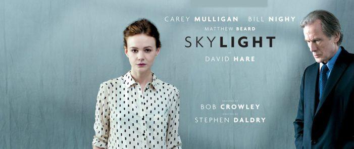 "30/10 - National Theatre Live: ""Skylight"""