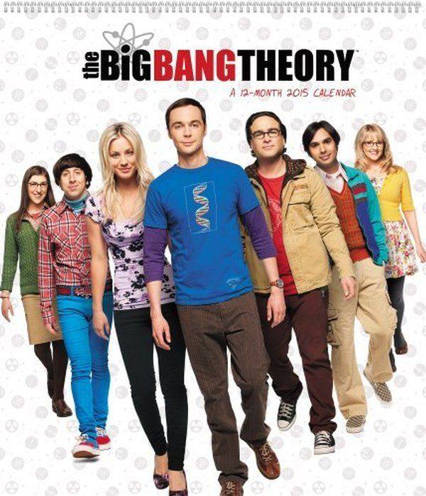 2015 Calendar - The Big Bang Theory Poster - Mead $16.99 on OLDIES.com