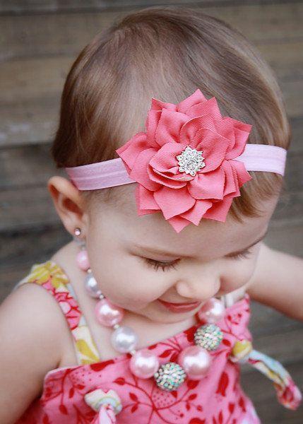 Lazo bebe rosa