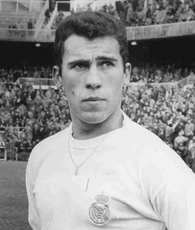 Amancio - Deportivo La Coruna, Real Madrid, Spain.