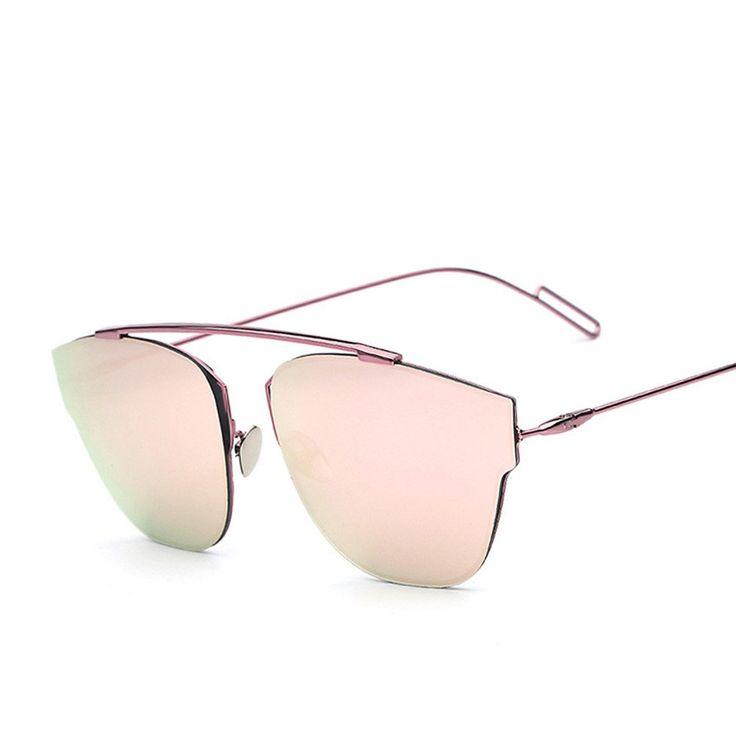 TL-Sunglasses Übergroße Cat Eye Sonnenbrille Frauen Luxus Sexy CRYSTAL Sonnenbrillen für Damen A1yS1WSbhK