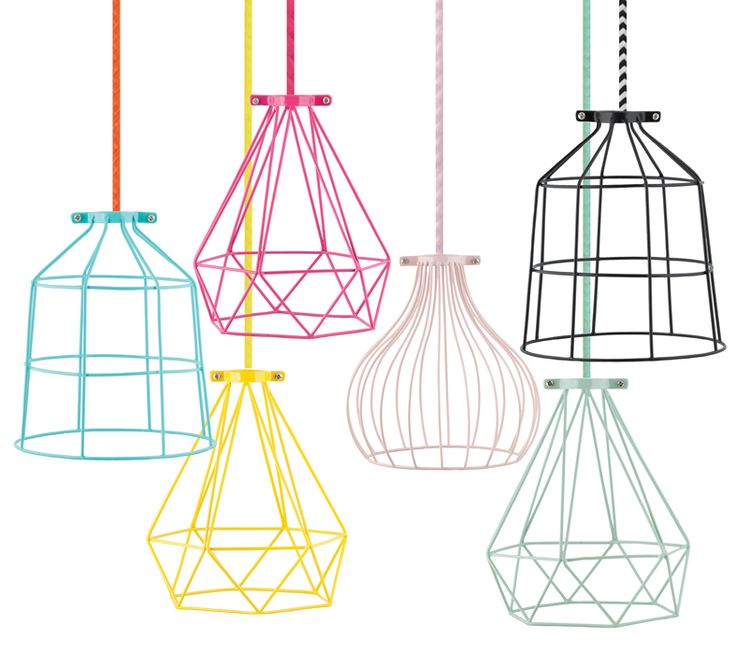 Geo Metal Light Cage Mint Mint Wire Lampshade Mint Wire Light Shade Wire