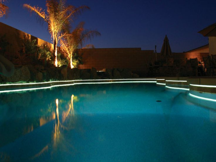 Viking pools of redding swimming pool lighting from - Inground swimming pool light fixture ...