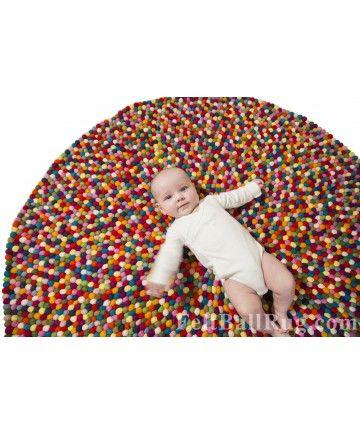 17 mejores ideas sobre alfombras redondas en pinterest - Alfombras redondas infantiles ...