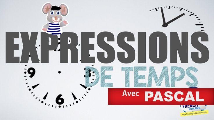 Preposiciones de tiempo en Francés