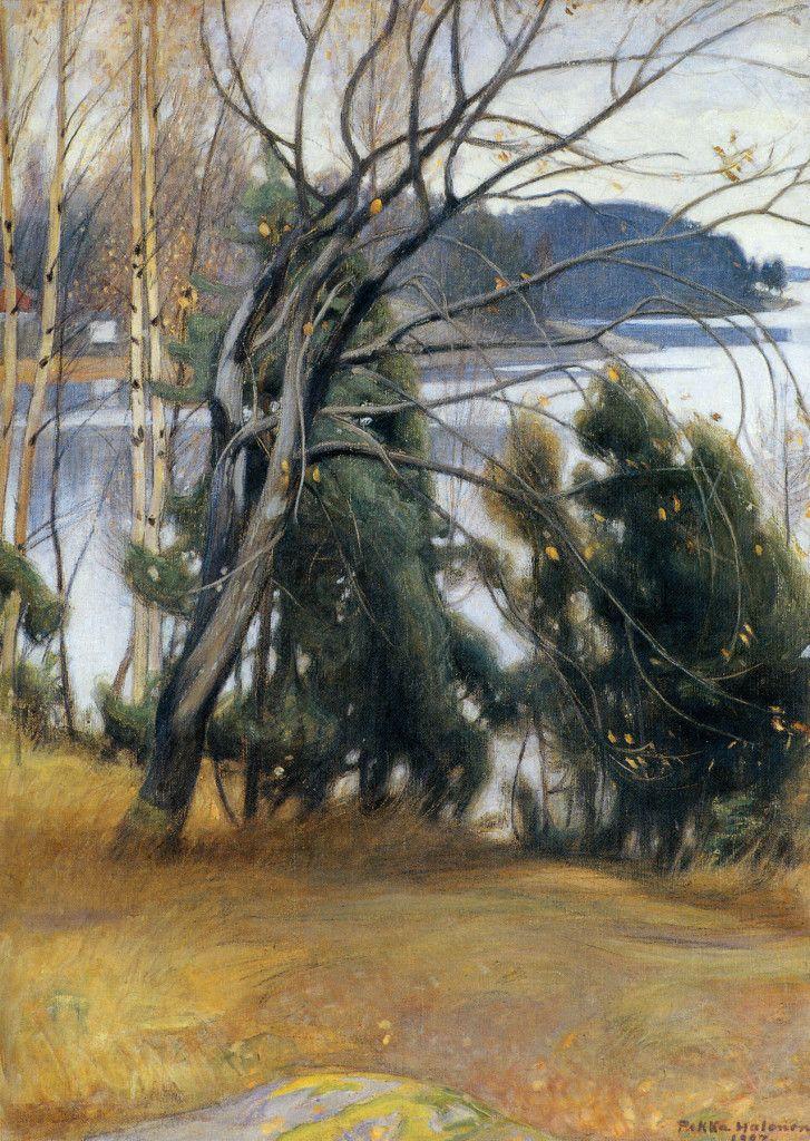 Pekka Halonen, Syksyinen Raita, 1907, The Life and Art of Pekka Halonen - http://www.alternativefinland.com/art-pekka-halonen/