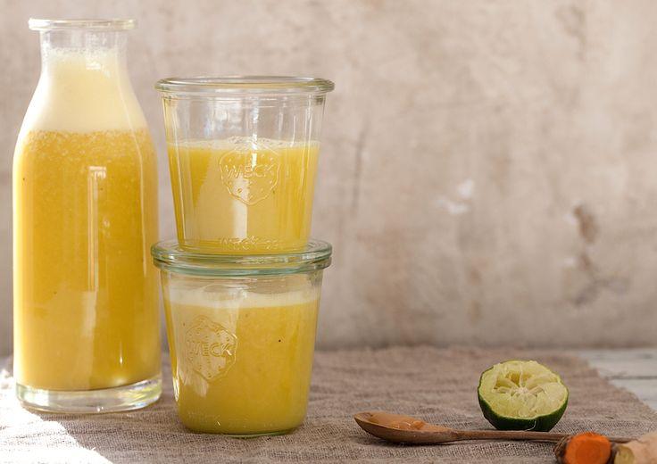Denne immunbooster og sunde smoothie har hjulpet mig mange gange, når forkølelser eller halsbetændelser har truet.…