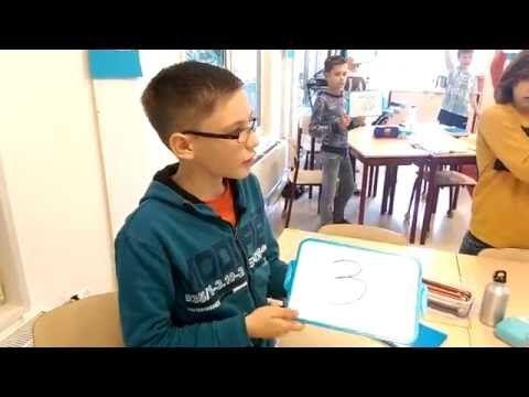 bewegend leren tafelsommen maken - YouTube