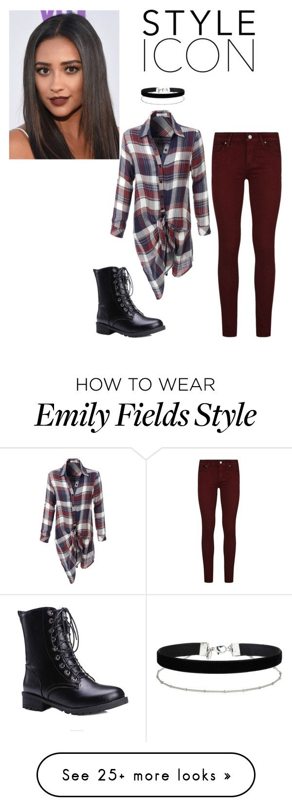 """Emily fields"" by hayleyl22 on Polyvore featuring Miss Selfridge, LE3NO and Paige Denim"