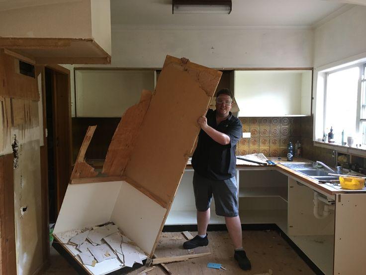 Kitchen demolition!
