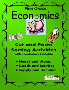 Worksheets Needs And Wants Worksheet Cut And Paste 1000 images about ss economics wants vs needs consumer first grade foldable vocabulary with cut and paste sorting activities picture