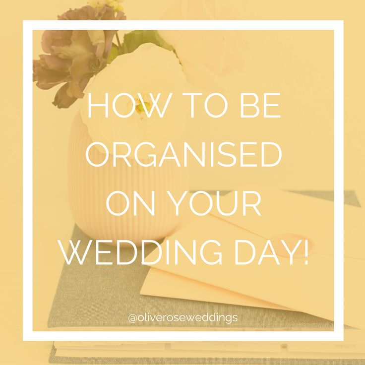 So, you ask me whether it is possible to be cool, calm and collected on your wedding day. And I say YES! IT. IS. POSSIBLE. And how that is possible is by being incredibly organised and it's not as hard as you think. Follow by tips below to be the coolest cucumber bride ever. # …