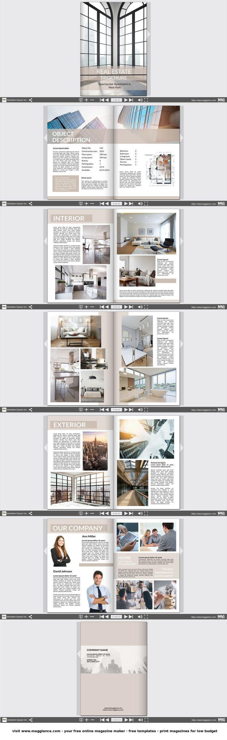 Immobilien Expose Kostenlos Online Erstellen Und Gunstig Drucken Unter De Maggl Hautpflege Demaggl Drucken Er Expose Immobilien Immobilien Broschure