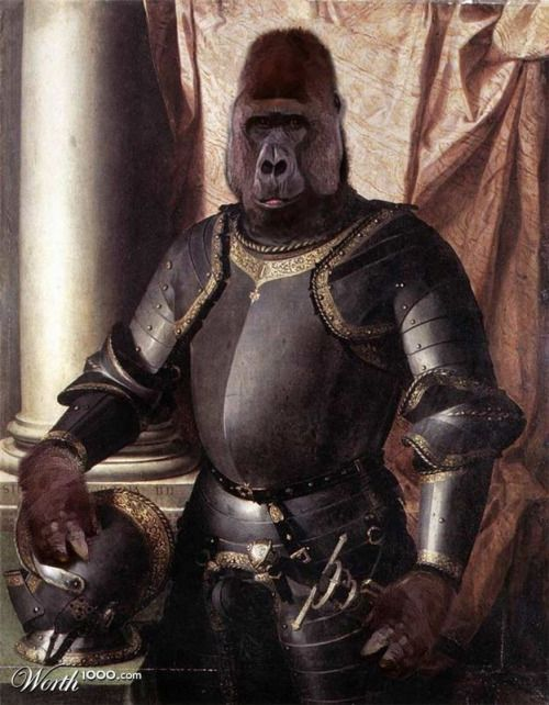 Sylvester Stallone ~ Gorilla Knight by gunmetal on Worth 1000