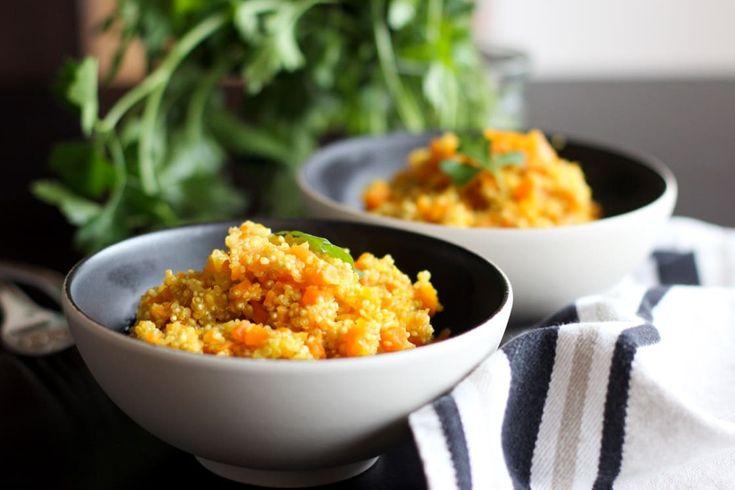 Quinoasotto aux carottes et aux épices