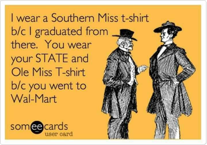 BAAHAAHAAAAA   Southern Miss... To The Top!