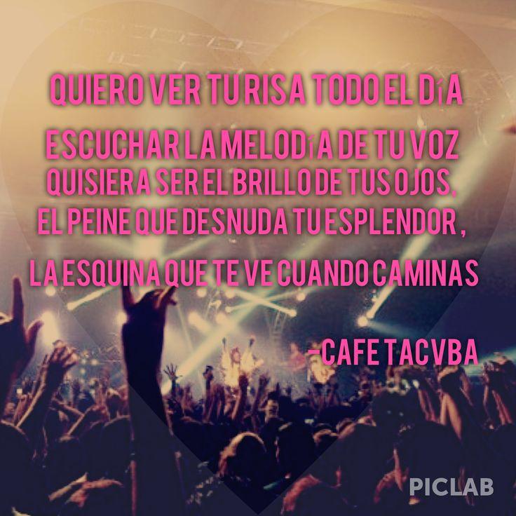 Quiero Ver-Café Tacuba (pic taken by @Christina & Palomares)