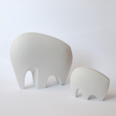 großer weißer Elefant  Verkäufer: AnneR-Design