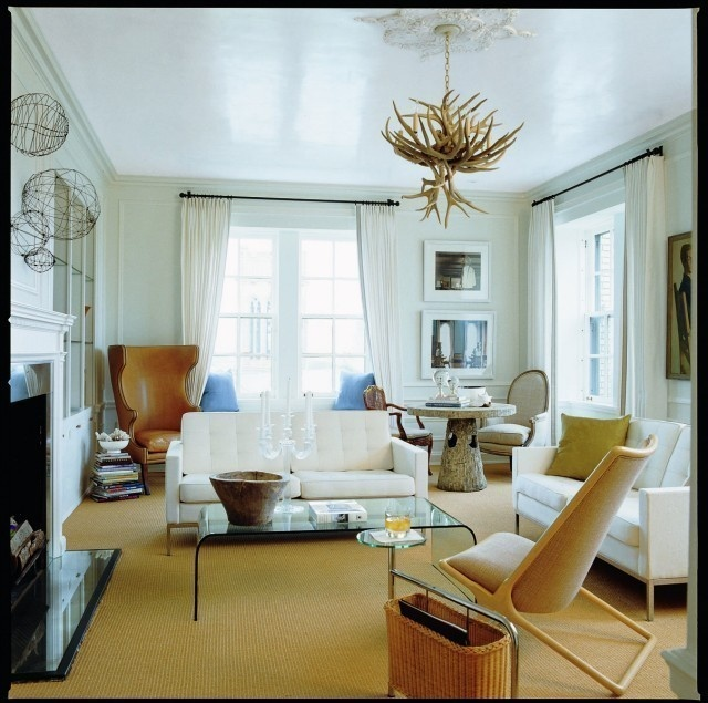 Living Room Elements (Stucco Ceiling???)