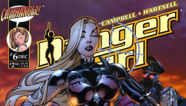 La portada del día: Danger Girl