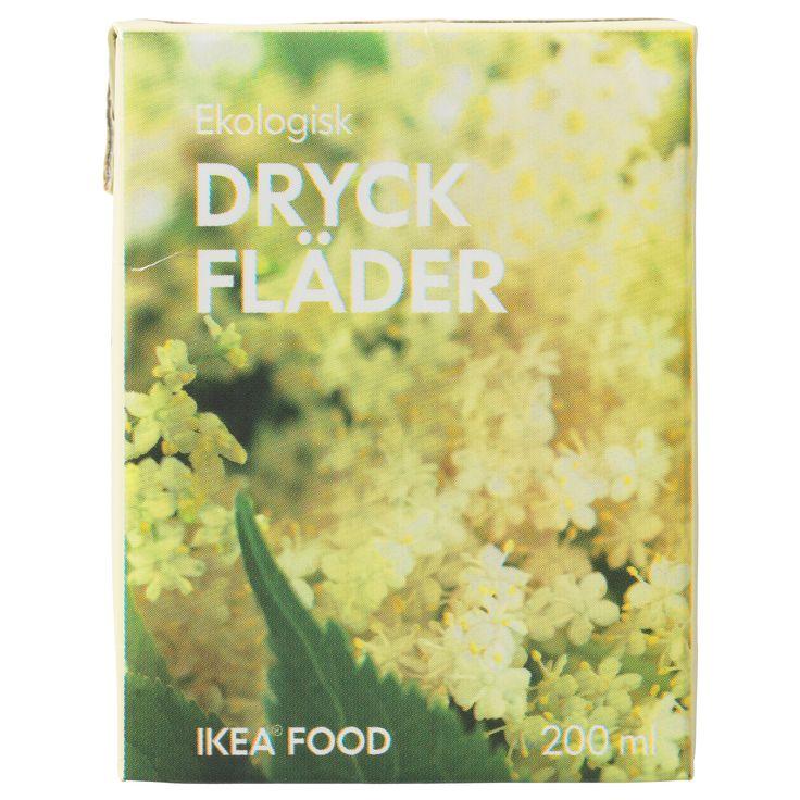 DRYCK FLÄDER Elderflower drink - IKEA