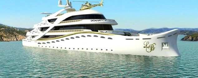 La Belle superyacht (Lidia Bersani/CNBC) Meet the $100M superyacht that's just for women