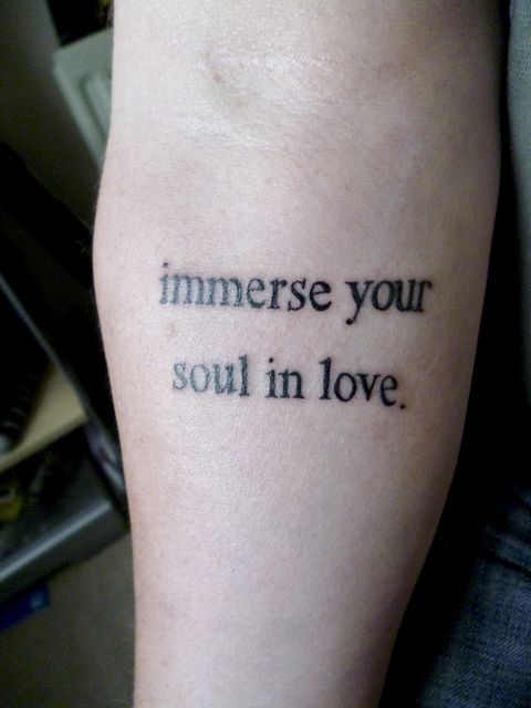 radiohead tattoo