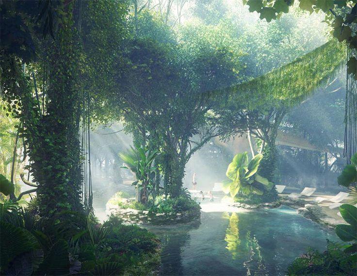 Hotel mit eingebautem Regenwald - Neuer Luxus aus Dubai https://www.langweiledich.net/hotel-mit-eingebautem-regenwald/