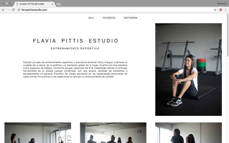 Flavia Pittis estudio. Diseño: DIEGO VALIÑA