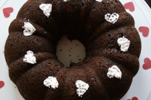 Too Much Chocolate Cake (A delicious doctored cake mix recipe)
