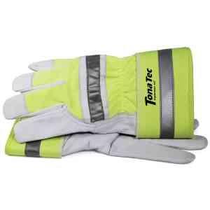 Hi-Visibility Goat Leather Work Gloves