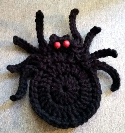 Stitch up a set of our frightening spider coasters for your Halloween celebration today. Watch the fun and laughs begin!These products work well for this project!Frightening Spider Coasters Designed by: Cylinda MathewsMaterials: