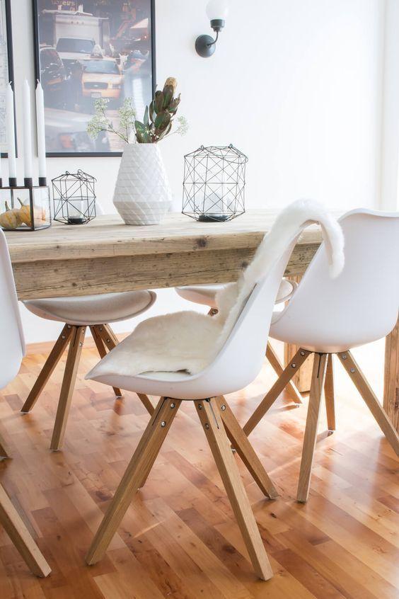 Fancy Heute zeige ich euch das Esszimmer unserer neuen Wohnung mit einem ganz besonderen Esstisch von PUUURO aus Oldenburg als Herzst ck
