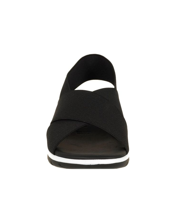 NR|RAPISARDI CROSSED SANDAL S/S 2016 Crossed sandals ''Riga'' heel 4 cm  black elastic bands  synthetic sole
