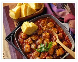 Peachy Pork Picante--I made this last week and we both really liked it. I'm a fan of recipes that are quick and only have a couple of ingredients!