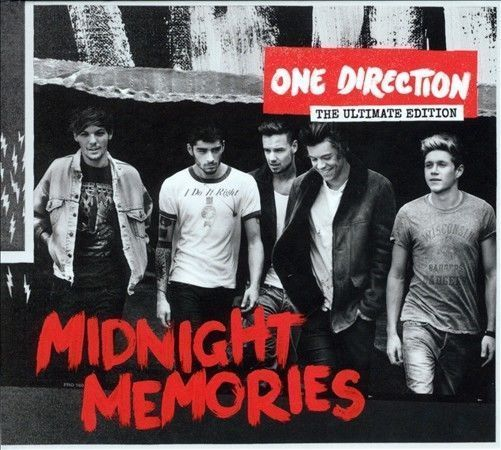 MIDNIGHT MEMORIES THE ULTIMATE EDITION BY ONE DIRECTION (CD, Nov-2013) #TeenPop