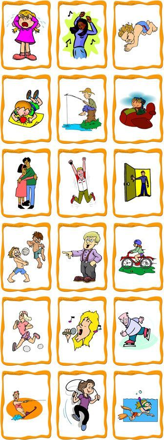 Lisää verbejä http://www.easypacelearning.com/all-lessons/learning-english-level-1/1378-activities-done-everyday-vocabulary-with-pictures