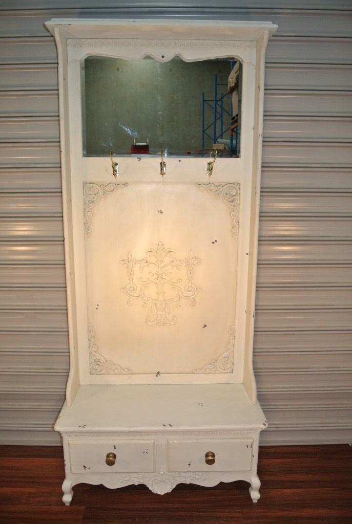 Hallway coat rack: Full Length Mirror