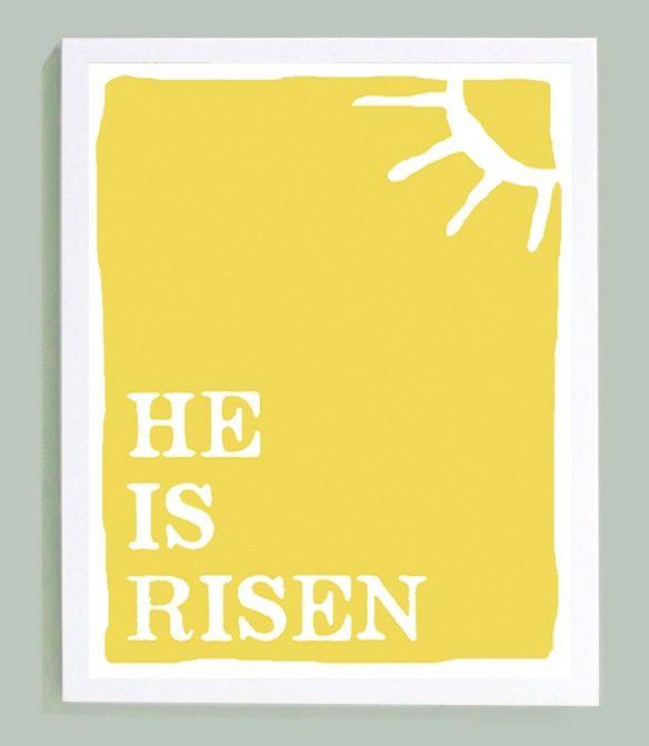He Is RisenWall Art, Easter Crafts, Cute Backgrounds, Mason Jars, Memories Verses, Easter Vers, Bible Verse, Easter Sayings, Easter Ideas