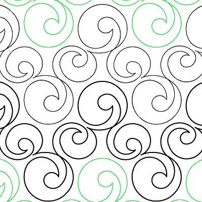 Continuous Line Bubbles by Quilts Complete