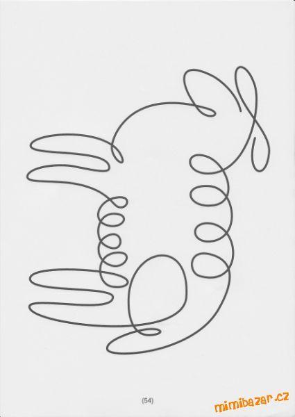 ovečka - jedním tahem