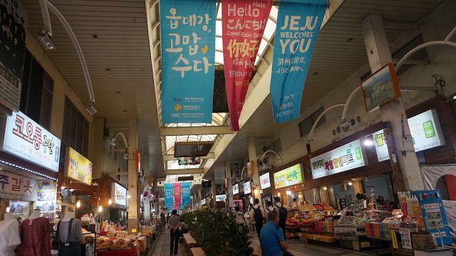 Jungang Market - Seogwipo city